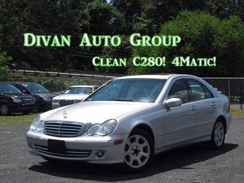2006 Mercedes-Benz C-Class for sale at Divan Auto Group in Feasterville PA