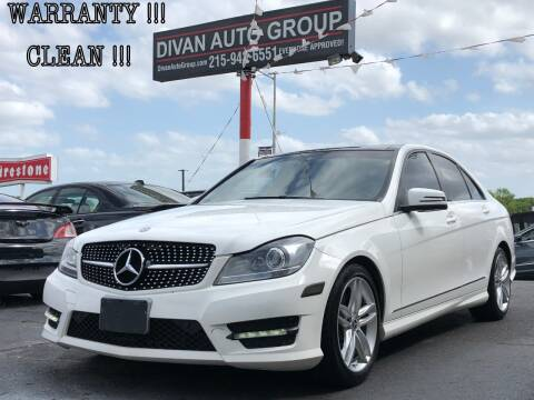 2014 Mercedes-Benz C-Class for sale at Divan Auto Group in Feasterville PA