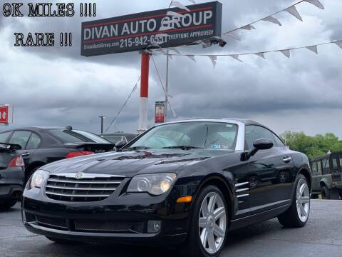 2004 Chrysler Crossfire for sale at Divan Auto Group in Feasterville PA