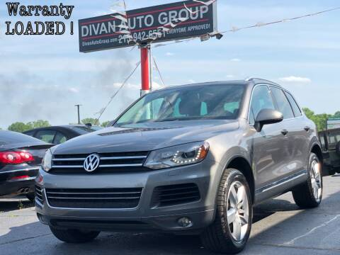 2013 Volkswagen Touareg for sale at Divan Auto Group in Feasterville PA