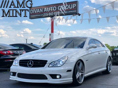 2006 Mercedes-Benz CLS for sale at Divan Auto Group in Feasterville PA