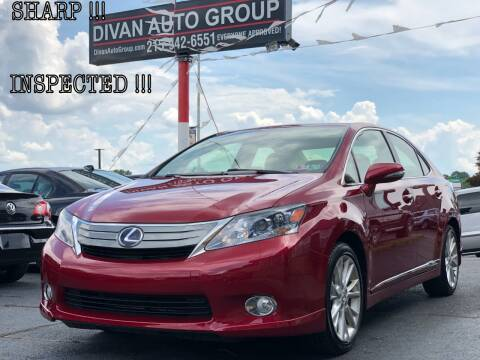 2010 Lexus HS 250h for sale at Divan Auto Group in Feasterville PA