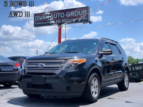 2014 Ford Explorer for sale at Divan Auto Group in Feasterville PA