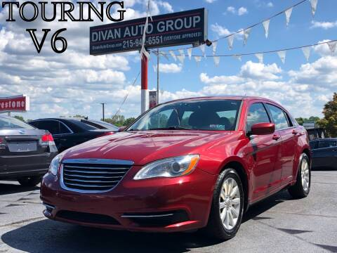 2013 Chrysler 200 for sale at Divan Auto Group in Feasterville PA
