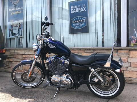 2012 Harley-Davidson xl1200v Sportster for sale at Divan Auto Group in Feasterville PA
