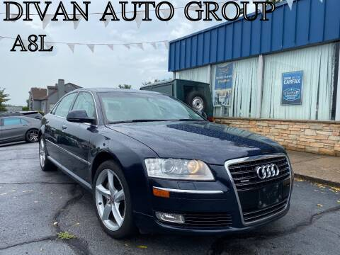 2009 Audi A8 L for sale at Divan Auto Group in Feasterville PA