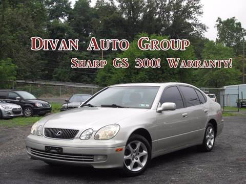 2001 Lexus GS 300 for sale at Divan Auto Group in Feasterville PA