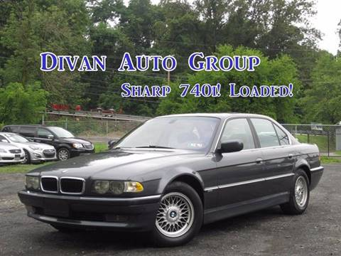 2001 BMW 7 Series for sale at Divan Auto Group in Feasterville PA