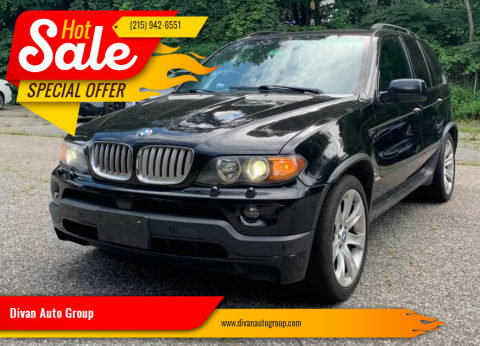 2006 BMW X5 for sale at Divan Auto Group in Feasterville PA