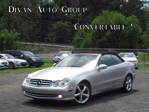 2005 Mercedes-Benz CLK for sale at Divan Auto Group in Feasterville Trevose PA
