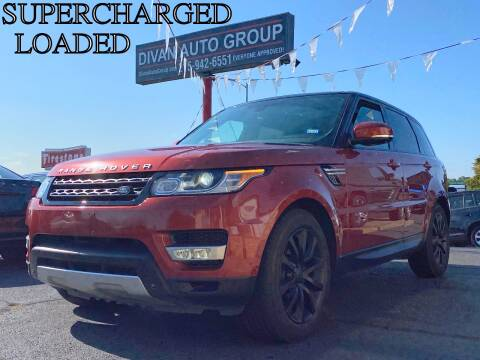 2014 Land Rover Range Rover Sport for sale at Divan Auto Group in Feasterville PA