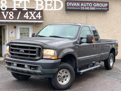 2004 Ford F-250 Super Duty for sale at Divan Auto Group in Feasterville PA