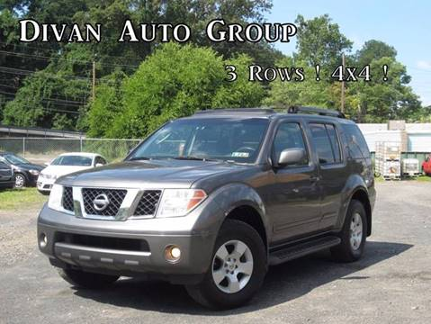 2006 Nissan Pathfinder for sale at Divan Auto Group in Feasterville Trevose PA