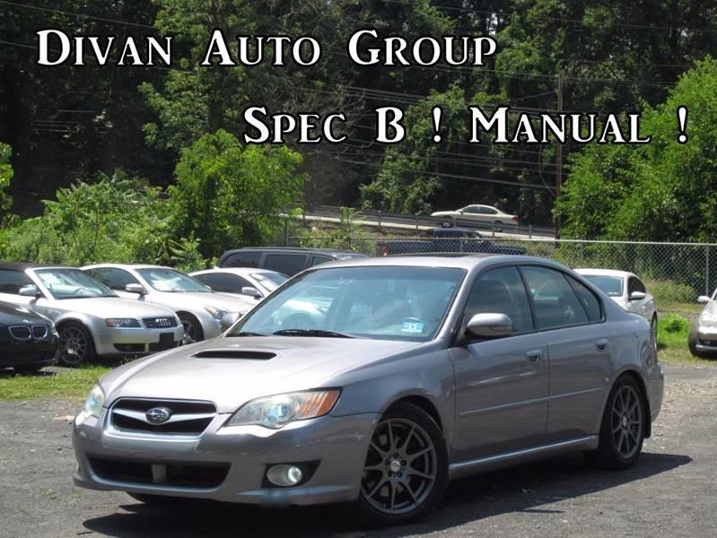 2008 Subaru Legacy Awd 25 Gt Spec B 4dr Turbo Sedan 6m Wvdc Wnavi