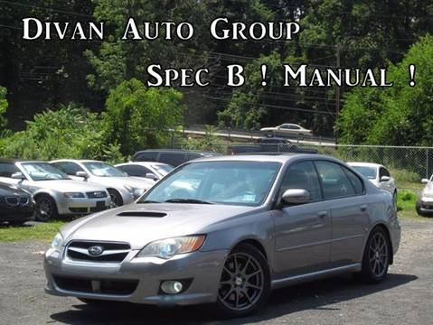 2008 Subaru Legacy for sale at Divan Auto Group in Feasterville PA