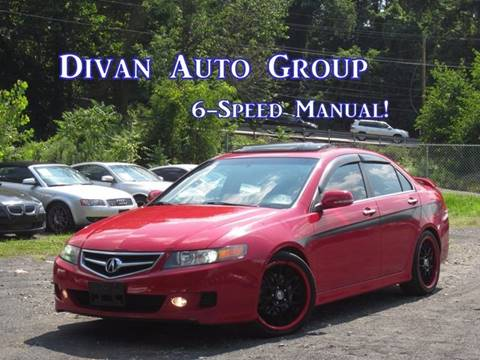 2007 Acura TSX for sale at Divan Auto Group in Feasterville PA