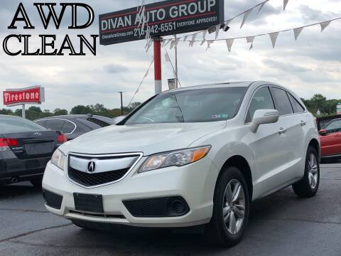 2013 Acura RDX for sale at Divan Auto Group in Feasterville PA