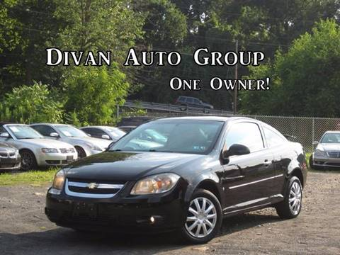 2009 Chevrolet Cobalt for sale at Divan Auto Group in Feasterville PA