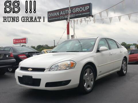 2008 Chevrolet Impala for sale at Divan Auto Group - 2 in Feasterville PA