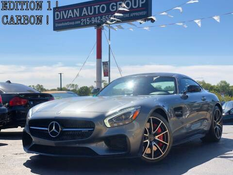 2016 Mercedes-Benz AMG GT for sale at Divan Auto Group in Feasterville PA