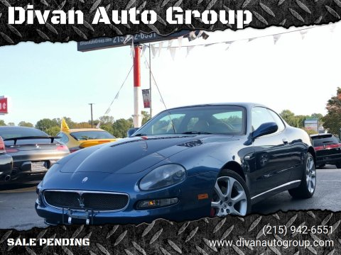 2002 Maserati Coupe for sale at Divan Auto Group in Feasterville PA