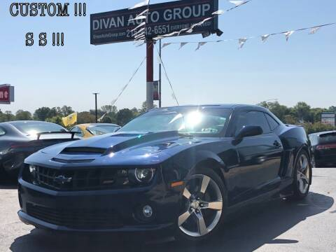 2010 Chevrolet Camaro for sale at Divan Auto Group in Feasterville PA