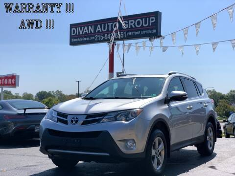 2015 Toyota RAV4 for sale at Divan Auto Group in Feasterville PA