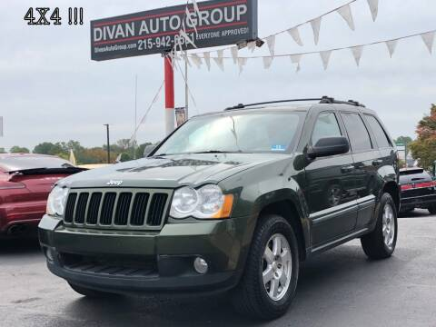 2008 Jeep Grand Cherokee for sale at Divan Auto Group in Feasterville PA