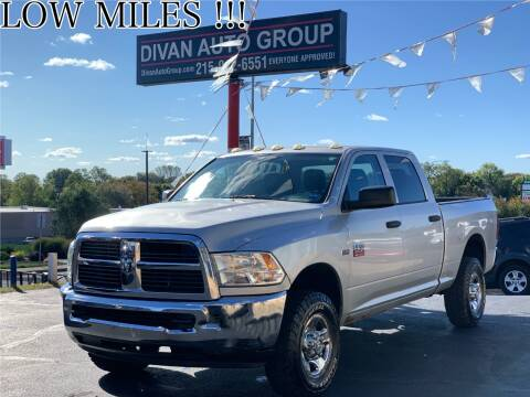 2012 RAM Ram Pickup 2500 for sale at Divan Auto Group in Feasterville PA