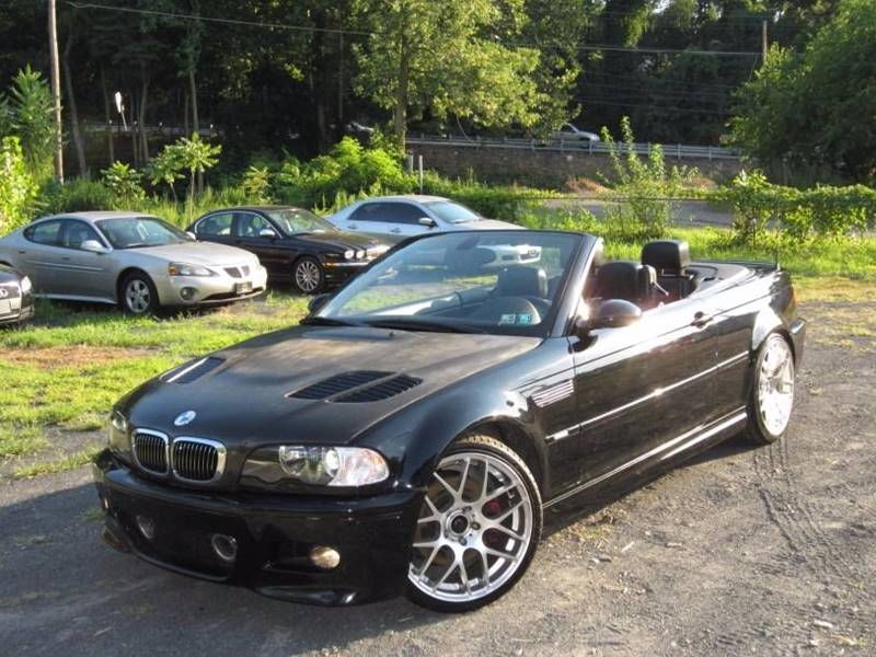 2001 Bmw M3 2dr Convertible In Feasterville PA - Divan Auto Group