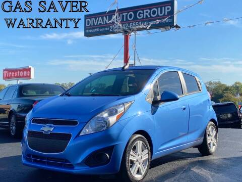2015 Chevrolet Spark for sale at Divan Auto Group in Feasterville PA