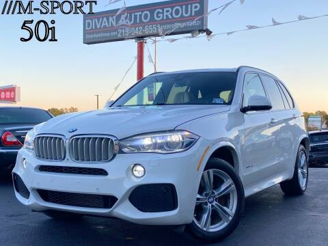 2015 BMW X5 for sale at Divan Auto Group in Feasterville PA