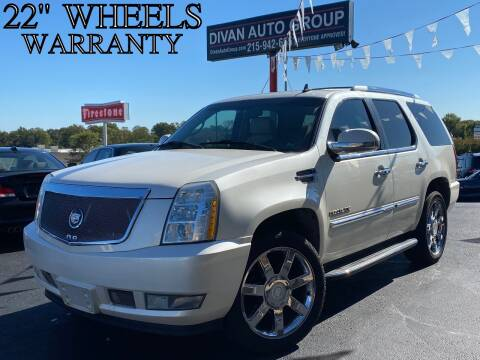 2007 Cadillac Escalade for sale at Divan Auto Group in Feasterville PA