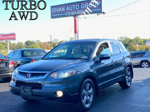 2007 Acura RDX for sale at Divan Auto Group in Feasterville PA