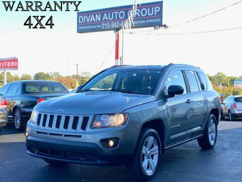2014 Jeep Compass for sale at Divan Auto Group in Feasterville PA