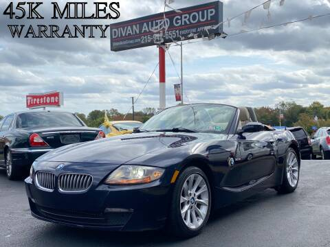 2006 BMW Z4 for sale at Divan Auto Group in Feasterville PA