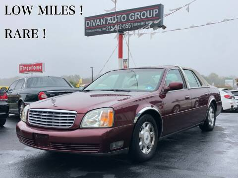 2002 Cadillac DeVille for sale at Divan Auto Group in Feasterville PA