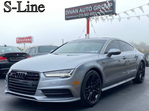 2016 Audi A7 for sale at Divan Auto Group in Feasterville PA