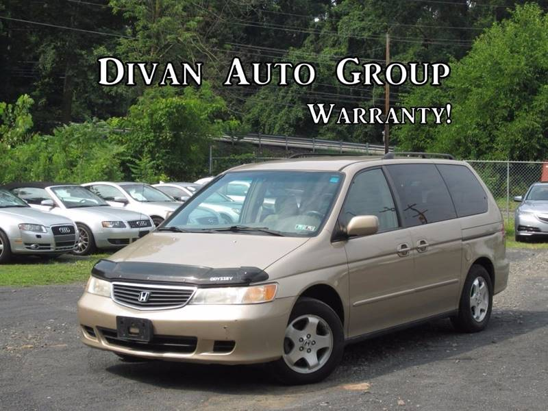 2000 Honda Odyssey for sale at Divan Auto Group in Feasterville PA