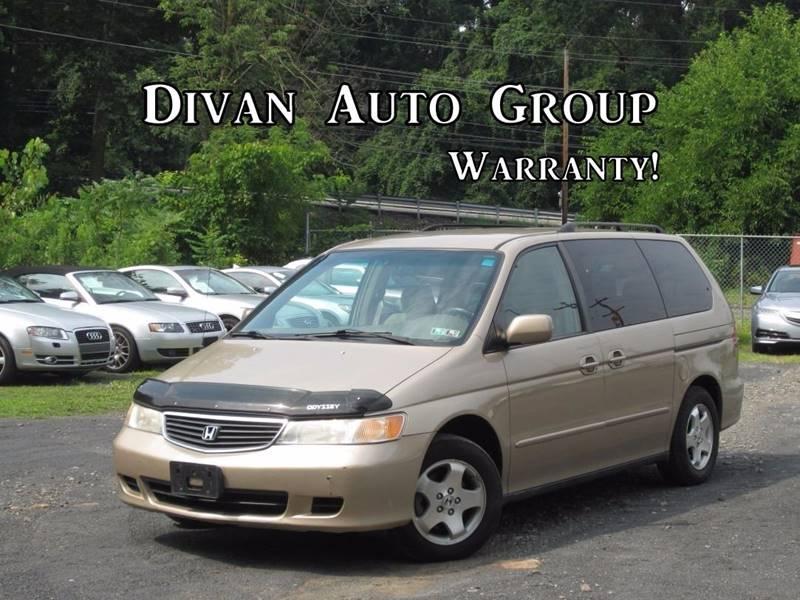 848afa2a82 2000 Honda Odyssey 4dr EX Mini-Van In Feasterville PA - Divan Auto Group