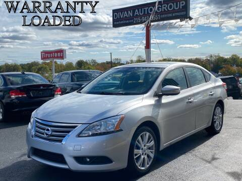 2014 Nissan Sentra for sale at Divan Auto Group in Feasterville PA