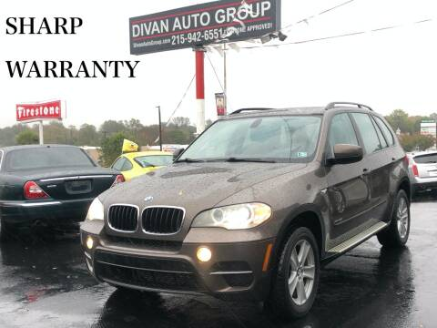 2013 BMW X5 for sale at Divan Auto Group in Feasterville PA