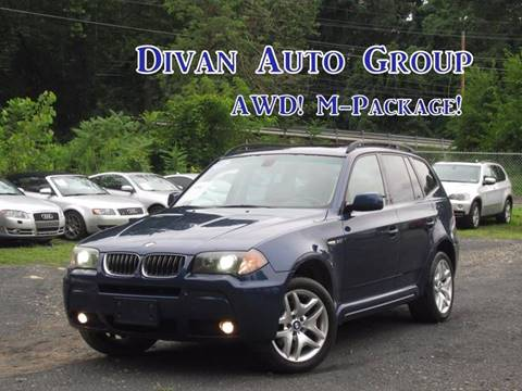 2006 BMW X3 for sale at Divan Auto Group in Feasterville PA