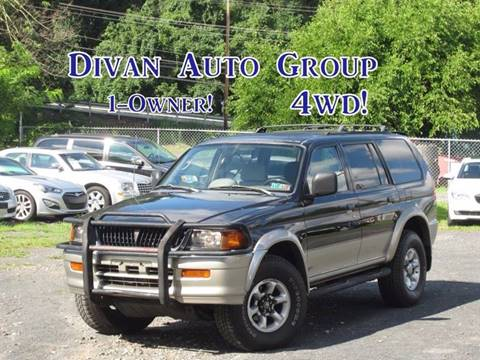 1998 Mitsubishi Montero Sport for sale at Divan Auto Group in Feasterville PA