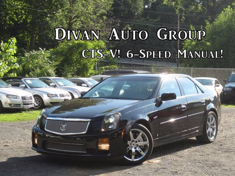 2007 Cadillac CTS-V for sale at Divan Auto Group in Feasterville PA