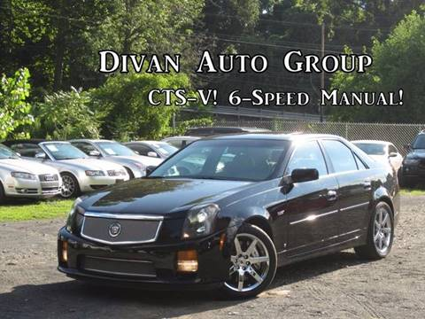 2007 Cadillac CTS-V for sale at Divan Auto Group in Feasterville Trevose PA