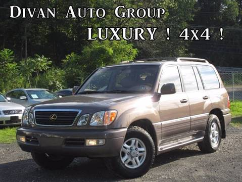 1999 Lexus LX 470 for sale at Divan Auto Group in Feasterville PA