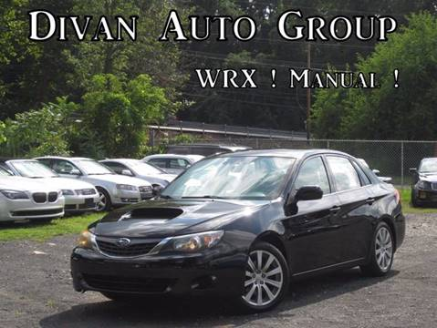 2008 Subaru Impreza for sale at Divan Auto Group in Feasterville PA