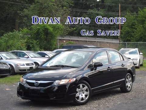 2010 Honda Civic for sale at Divan Auto Group in Feasterville PA
