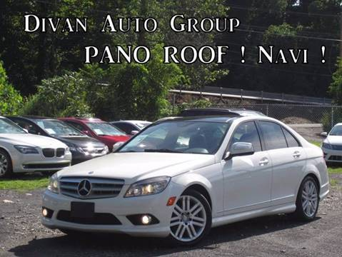 2008 Mercedes-Benz C-Class for sale at Divan Auto Group in Feasterville PA